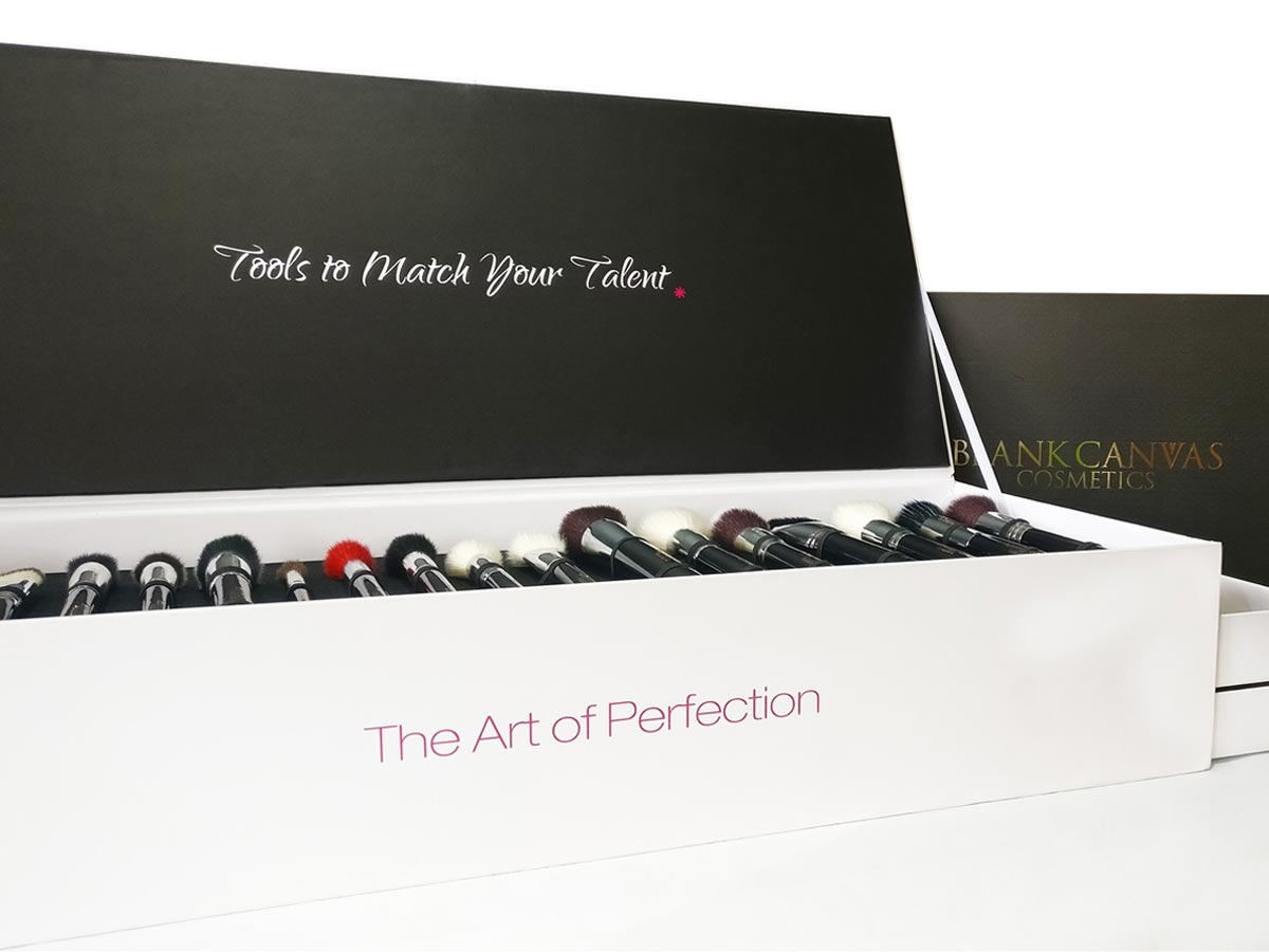 Blank Canvas Cosmetics Tools To Match Your Talent Gift Set