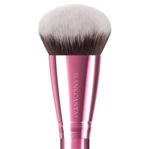 F06 Bevelled Foundation and Contour Brush (Option: Metallic Rose Gold)