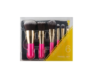 Blank Canvas Cosmetics  6 Piece Travel Set Dimension Series
