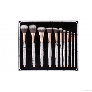 Blank Canvas Cosmetics  Magni-marble Brush Gift Set with Magnetic Brush Holder
