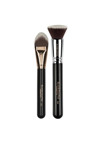 Blank Canvas Cosmetics  One Stop Foundation Brush Set