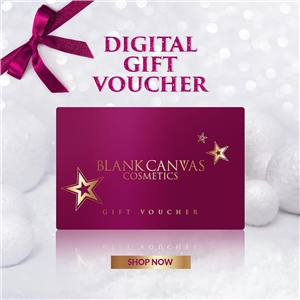 Blank Canvas Cosmetics  E-Gift Voucher