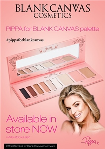 Blank Canvas Cosmetics  TRADE SAMPLE Pippa For Blank Canvas Palette