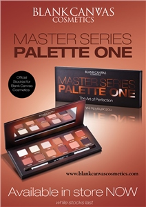 Blank Canvas Cosmetics  TRADE SAMPLE Master Series Eyeshadow Palette One