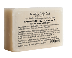 Blank Canvas Cosmetics  SAMPLE SOAP