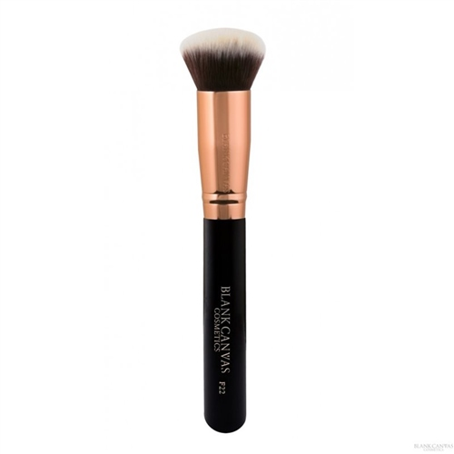 F22 Rose Gold and Black Face Brush  - Click to view a larger image