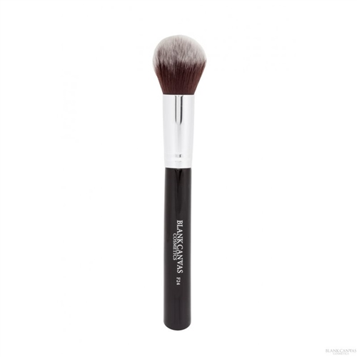 F24 Medium Foundation Powder and Bronzer Brush  - Click to view a larger image