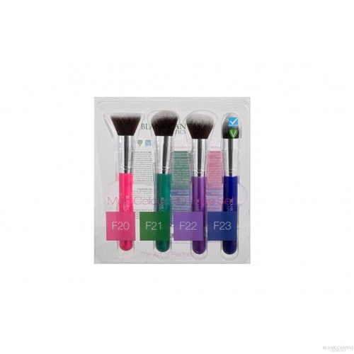 Multi-Colour Edition Brush Set With Travel Case  - Click to view a larger image
