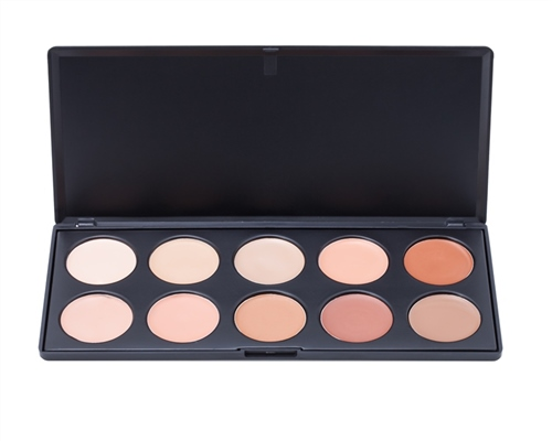 10 Cream Contour Concealer Palette  - Click to view a larger image