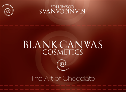 Blank Canvas Chocolate  - Click to view a larger image