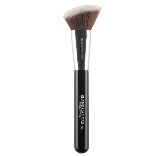 F21 Angled Contour Face Brush Black  - Click to view a larger image