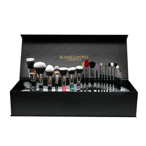 Pro MUA - Professional 21 Piece Brush Set with Spiral Display  - Click to view a larger image