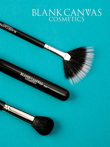 Blank Canvas Comsetics Brush Sets and Accessories