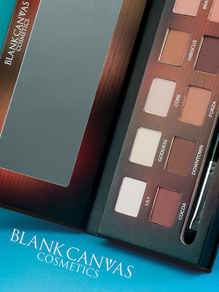 Blank Canvas Comsetics Makeup
