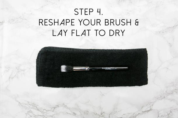 How to clean your Blank Canvas Brushes